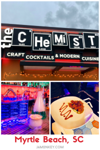 Cool Cocktails and Cuisine at The Chemist in Myrtle Beach, SC