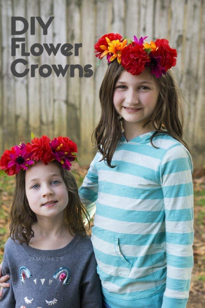 Diy flower crowns jamonkey izmirmasajfo Images