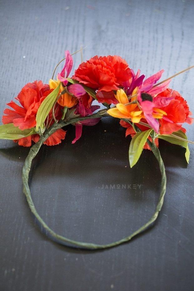 DIY Flower Crowns Inspired by Ferdinand
