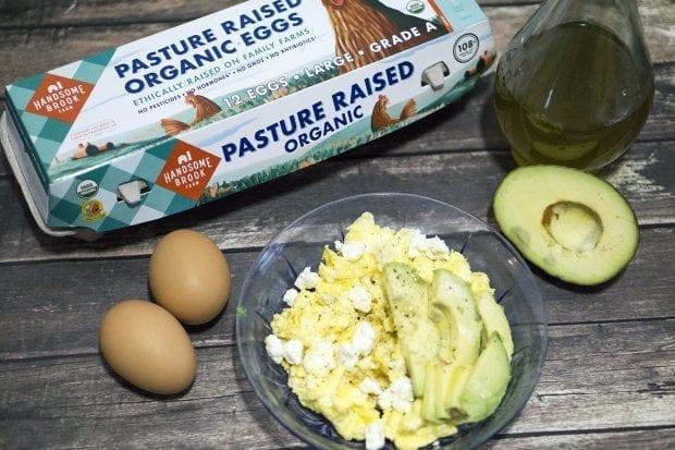 Keto Feta Eggs