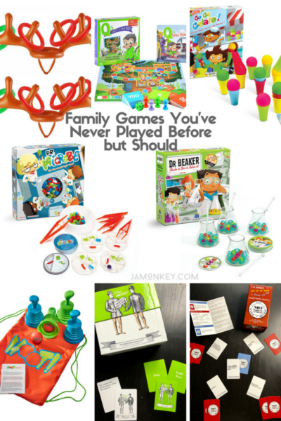 Family Games You've Never Played Before but Should - Holiday Gift Ideas