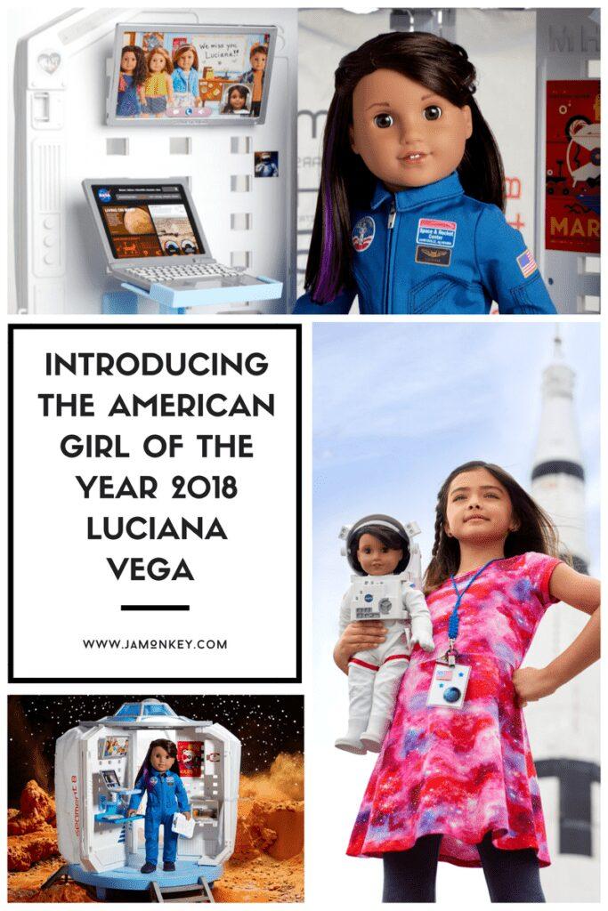 INTRODUCING THE GIRL OF THE YEAR 2018 LUCIANA VEGA – AMERICAN GIRL