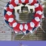 DIY Olaf's Frozen Adventure Wreath