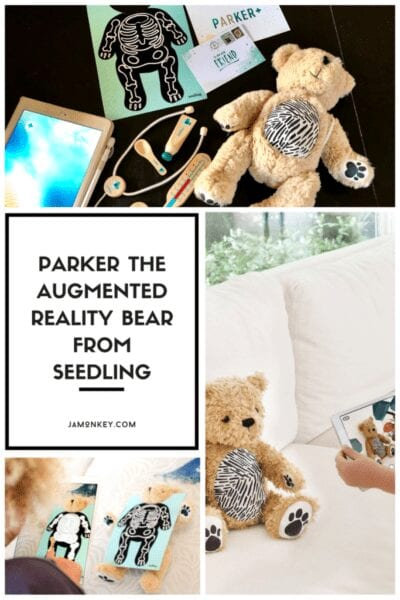 Review of Parker the Augmented Reality Bear from Seedling - S.T.E.A.M. Saturday VIDEO