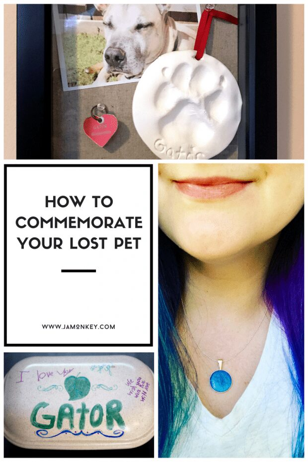 How to Commemorate Your Lost Pet