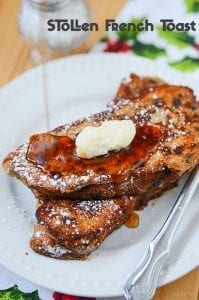 Stollen French Toast Recipe