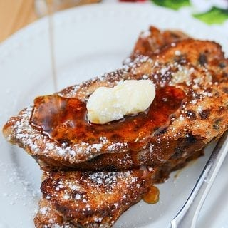 Stollen Bread French Toast Recipe