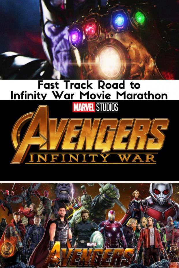 Fast Track Road to Infinity War Movie Marathon