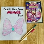 Minnie Mouse Bow and Activity Printables