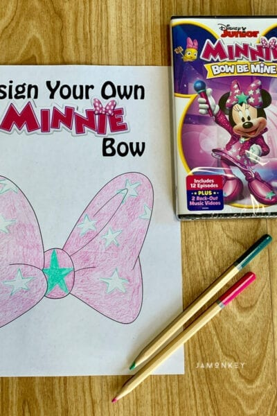 Minnie Mouse Bow Printable
