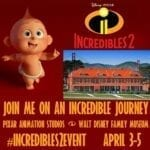Follow the Incredibles 2 Press Event at Pixar