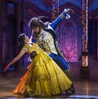 Beauty and the Beast on the Disney Dream.