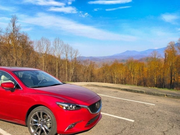 Mazda 6 in Gatlinburg