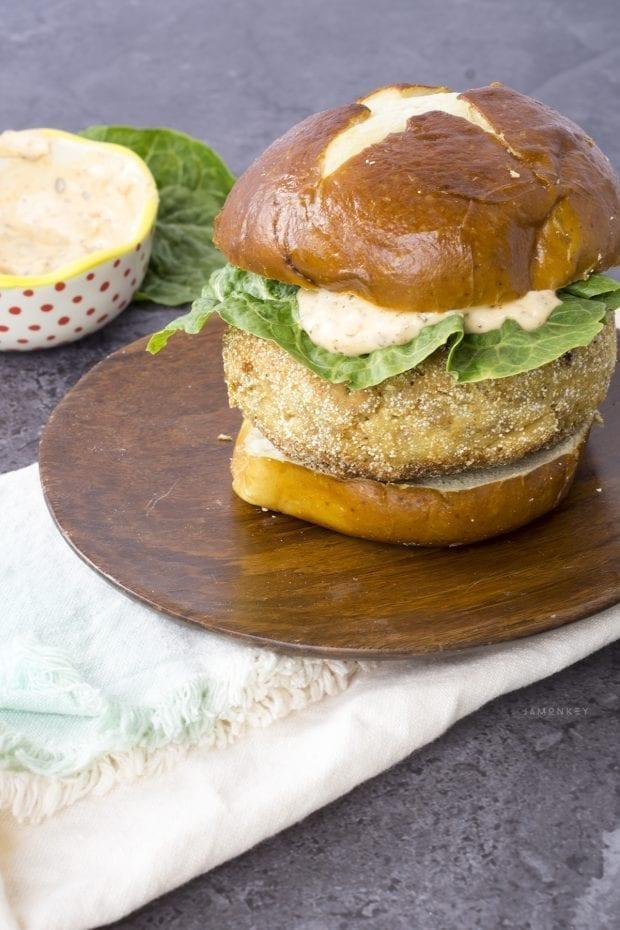 Chipotle Tuna Burger