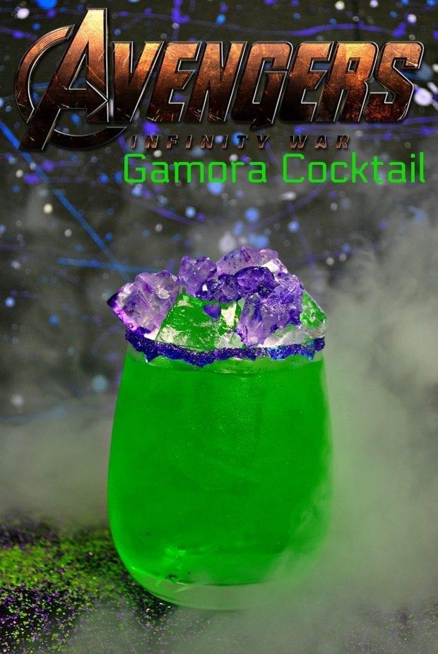 Avengers Infinity War Gamora Cocktail