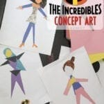 Create a Super – Make Your Own Pixar Incredibles Concept Art