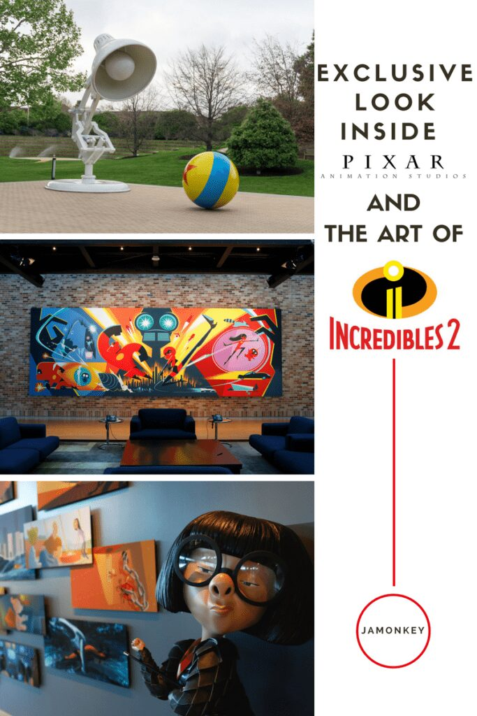 Exclusive Tour of Pixar Studios and the Art of Incredibles 2