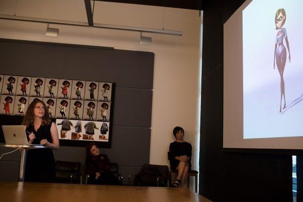 Fran Kalal Talks about Elastigirl's Super Suit