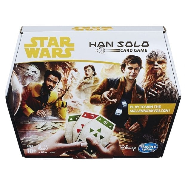 Han Solo Lando Card Game Sabacc