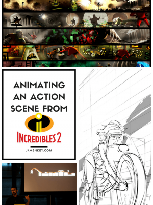 Animating an Action Scene from Incredibles 2