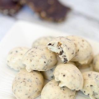 Keto Chocolate Hazelnut Protein Fat Bombs