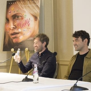 Mark Duplass and Ron Livingston for Tully