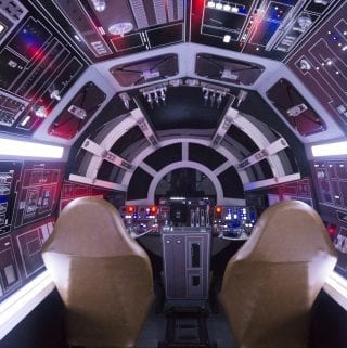 Tour of the Millennium Falcon – May The Fourth Be With You VIDEO
