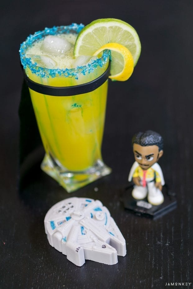 Lando Calrissian Sabacc Poker Face Cocktail