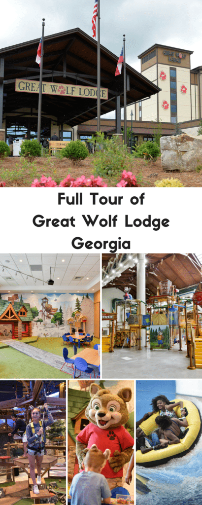 Full Tour of Great Wolf Lodge Georgia - Grand Opening Celebration with Meg Donnelly