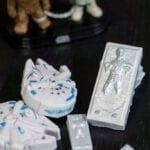 Chewy Han Solo Candy – Lando's Millennium Falcon and Han Solo Trapped in Carbonite