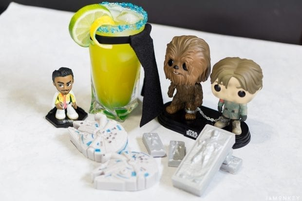 Han Solo Party Food and Drinks