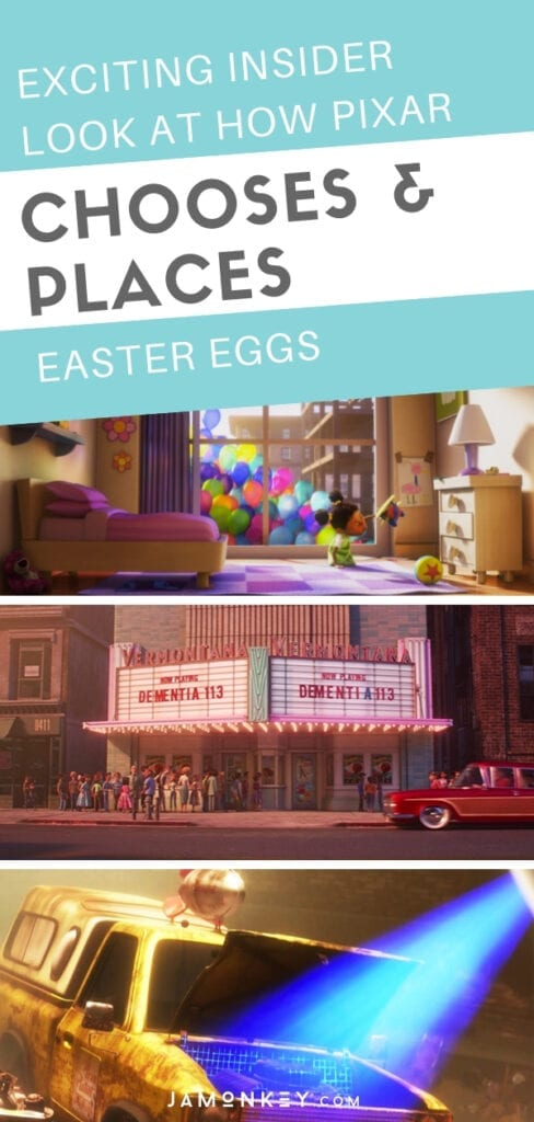 Exciting Insider Look at How Disney Pixar Easter Eggs are Chosen and Placed