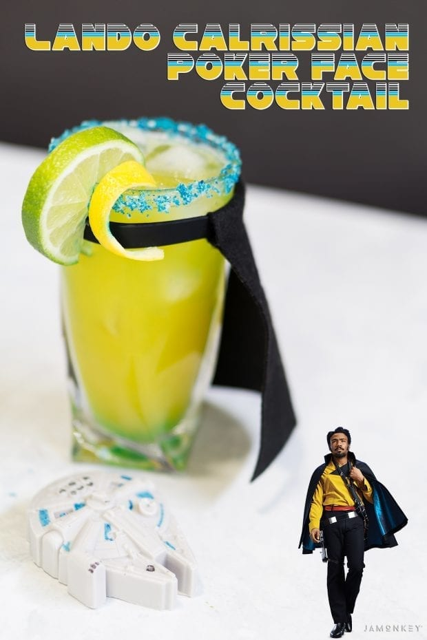 Lando Calrissian Poker Face Cocktail