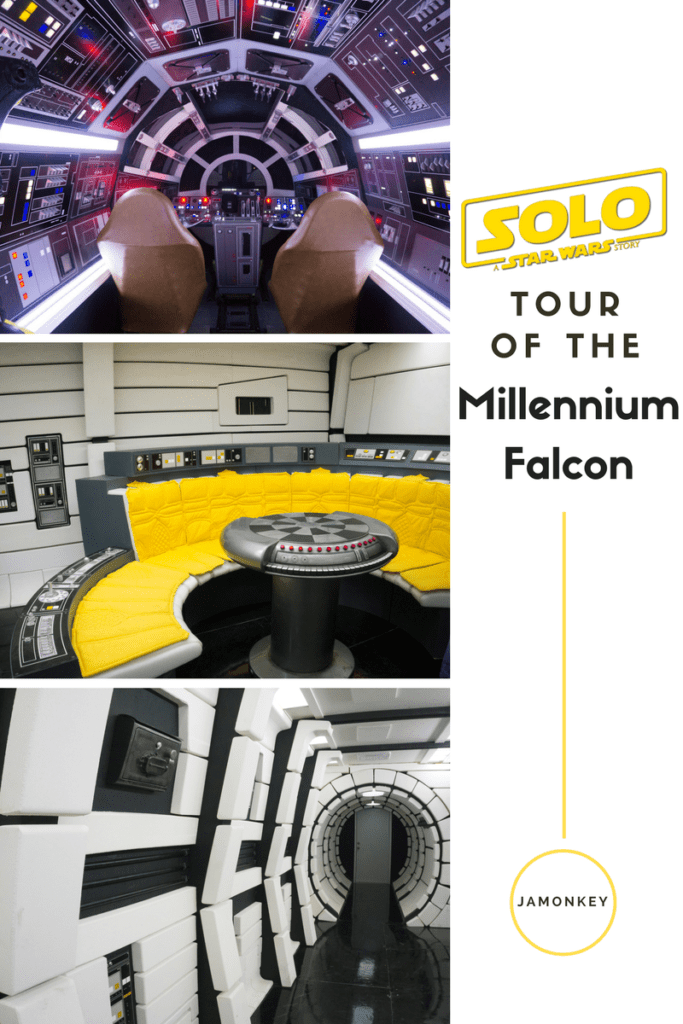 Tour of the Millennium Falcon for Solo: A Star Wars Story - May the Fourth Be With You