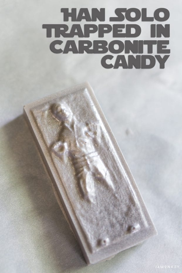 Han Solo Trapped in Carbonite Candy