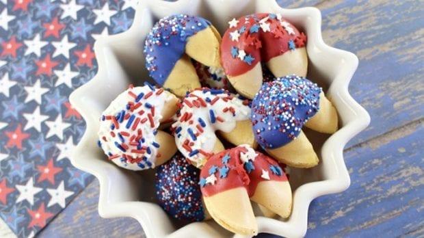 Patriotic Fortune Cookies