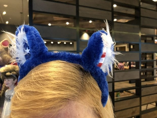 Red, White and Blue Ears at Great Wolf Lodge