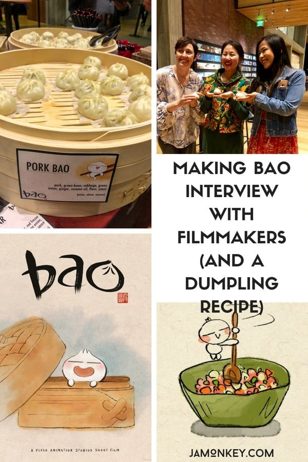 Making Bao - Interview with Filmmakers (and a Dumpling Recipe)