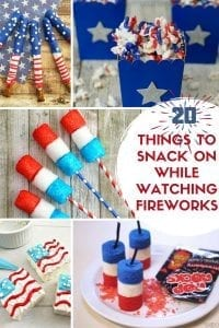 20 Things to Snack on While Watching Fireworks