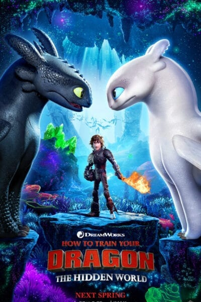 Meet the Light Furry in How to Train Your Dragon 3: The Hidden World