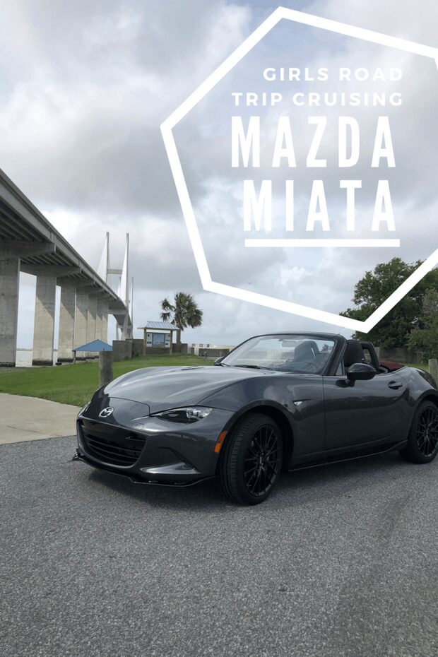 Girls Road Trip Cruising in the Mazda Miata