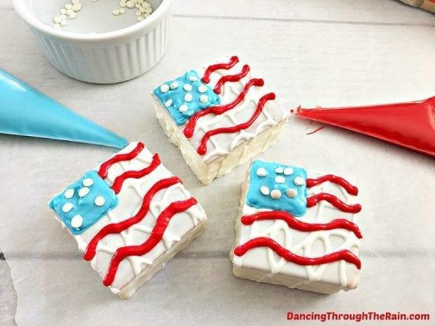 Patriotic Snack Cakes