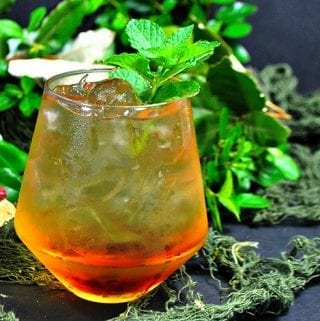 Peach Mint Julep Cocktail – Jurassic Julep