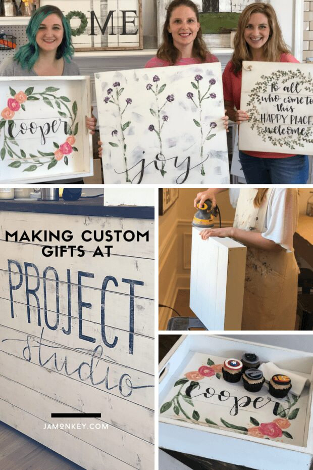 Making Custom Gifts at Project Studio