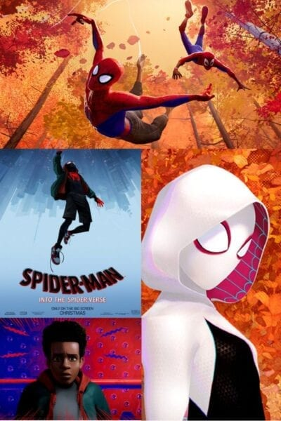 Cool Animation in the First Look at Spider-Man: Into the Spider-Verse