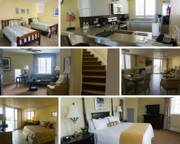 Room options at the King and Prince Resort
