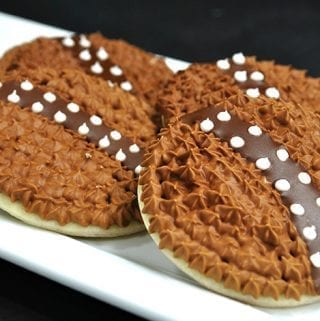 Chewbacca Wookie Cookies