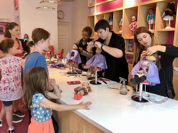 American Girl Doll Salon