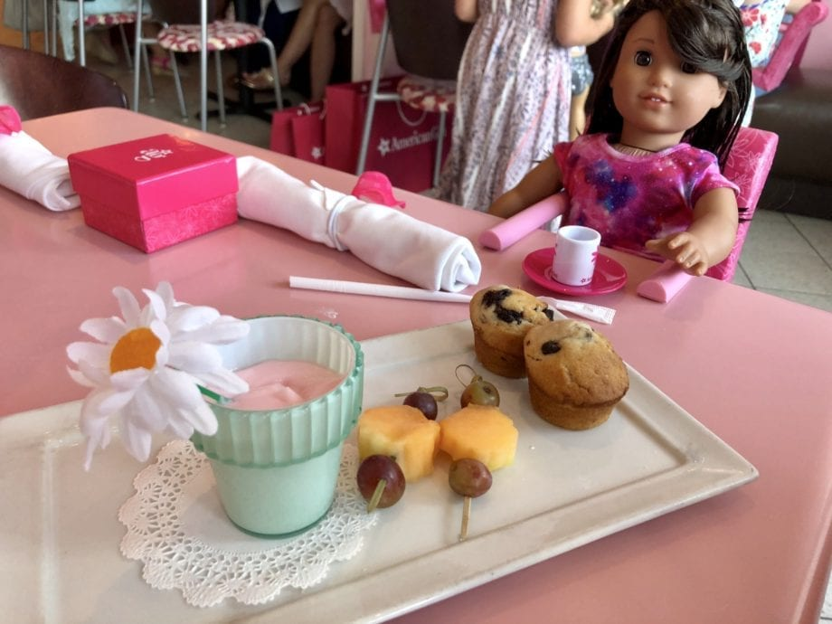 visiting the american girl doll salon boutique and bistro in atlanta