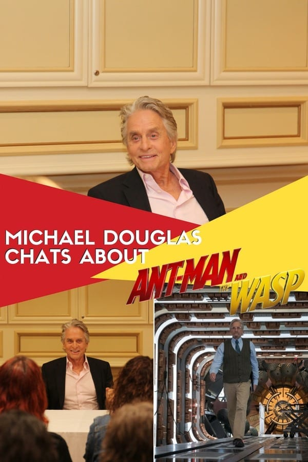 Michael Douglas chats about Ant-Man and The Wasp